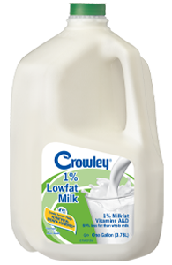 Crowley 1% Lowfat Milk - Dec 2019